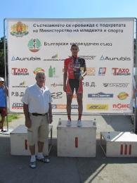 Шампиони на България за мъже на писта за 2013 г.